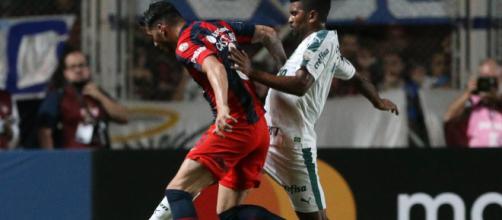 Palmeiras não se deu bem na Argentina. (Divulgação/Cesar Greco/Agência Palmeiras).