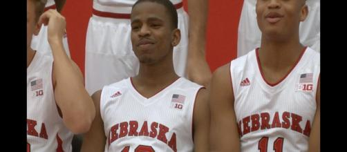 Thomas Allen leaves the Nebraska basketball team. - [HuskerOnline Video / YouTube screencap]