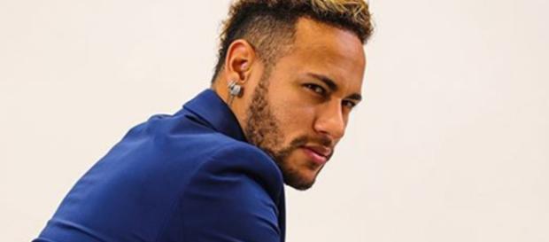 Neymar volta aos treinos após lesão. (Reprodução/Instagram/@neymarjr)