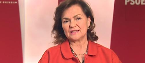Carmen Calvo apoya un gobierno socialista en solitario
