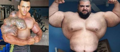 Hulk brasileiro e Hulk iraniano podem se enfrentar no ringue. (Arquivo Blasting News)