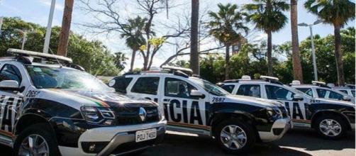 O suspeito ainda tentou fugir, mas foi contido pela polícia. (Arquivo Blasting News)