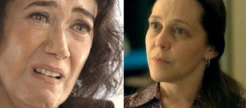 Valentina e Judith se enfrentam. (Reprodução/TV Globo)