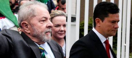 Lula usará tese de Moro para sair da cadeia. (Arquivo Blasting News)