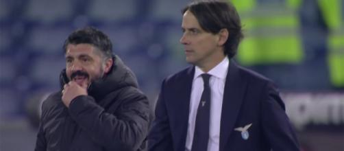 Gennaro Gattuso e Simone Inzaghi