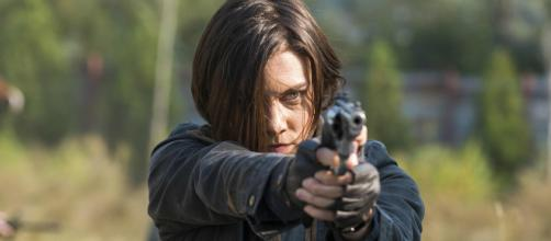 "Lauren Cohan may return to ""The Walking Dead,"" but not as a main character. [Image Credit] Rick Grimes/YouTube"