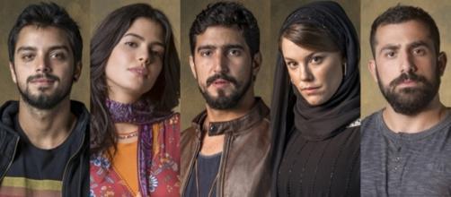 Personagens se tornaram suspeitos de assassinato. (Divulgação/Rede Globo)
