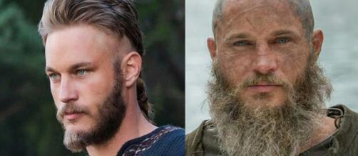 Ragnar, interpretado pelo ator Travis Fimmel, em Vikings. (Foto: Divulgação/ History)