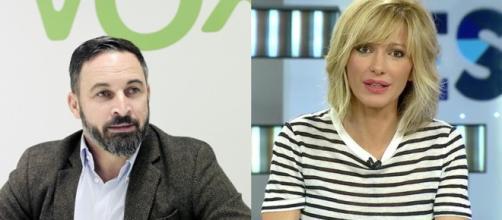 Santiago Abascal y Susanna Griso en imagen