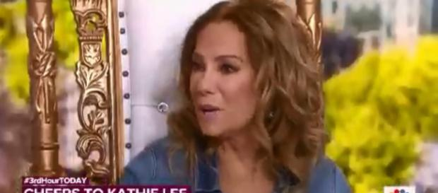 Kathie Lee Gifford offered some powerful words on love even before her final Thursday fourth hour on Today. [Image source-TODAY-YouTube]