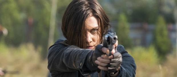 """Lauren Cohan may return to """"The Walking Dead,"""" but not as a main character. [Image Credit] Rick Grimes/YouTube"""