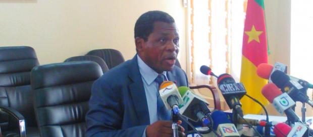 Le Ministre de l'Administration Territoriale Paul Atanga Nji © Odile Pahai