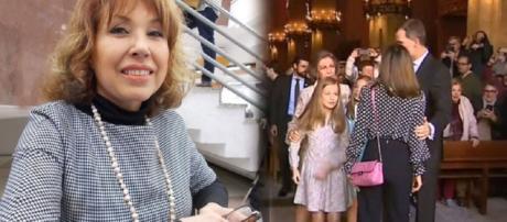 Lina Lavin, condesa de la Car, habla del desencuentro entre Letizia y Sofía de hace un año