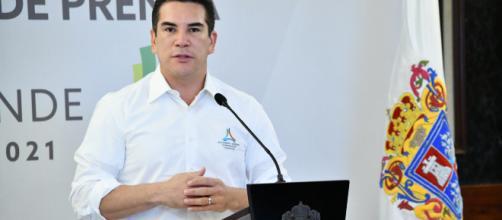 Alejandro Moreno Cárdenas, Gobernador del estado de Campeche.