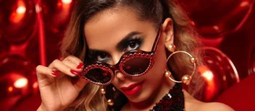 Cantora Anitta, uma das cantoras mais populares do Brasil. (Arquivo Blasting News)
