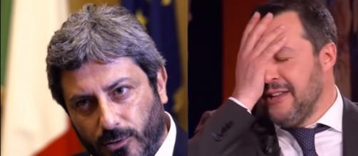 Fico-Salvini, di nuovo scintille