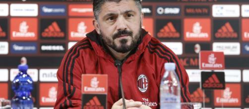 Milan in campo contro la Juventus, parla Gattuso