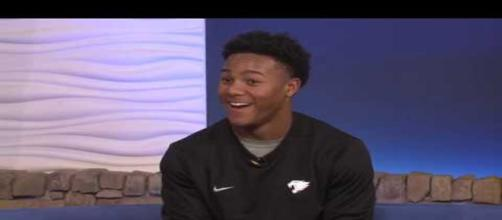 Wandale Robinson getting some national attention. [Image via FOXLexington/YouTube]