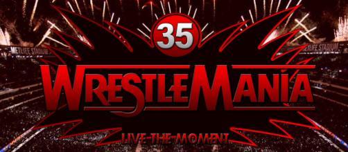 WWE WrestleMania 35 logo - 7 Avril 2019 (reddit.com)