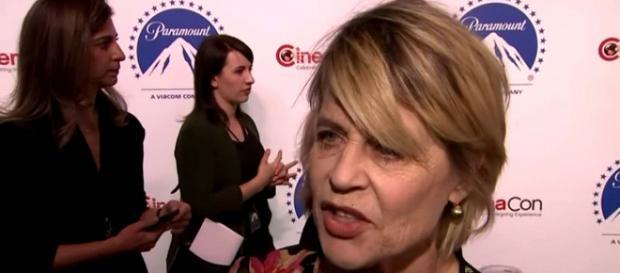 "Linda Hamilton is reprising her role of Sarah Connor in ""Terminator: Dark Fate"" [Image Associated Press/YouTube]"