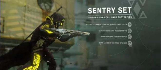 Destiny 2: Bungie on the Sentry armor set, Enhancement Cores, and Titan supers