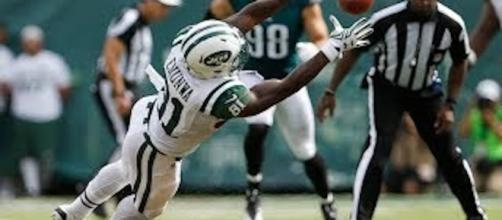 Former Husker-turned-Jets' receiver Quincy Enunwa is considered a steal of the 2014 NFL Draft. - [Elite Sports / YouTube screencap]