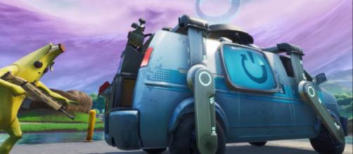 Fortnite: Battle Royale is getting a Reboot Van. [image credits: Fortnite/YouTube screenshot]