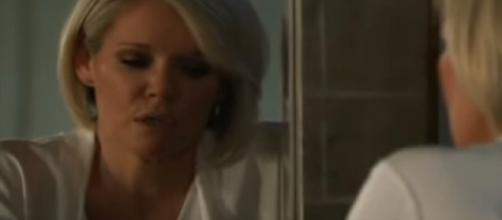 Kristina is ready for the initiation rite. - [General Hospital / YouTube screencap]