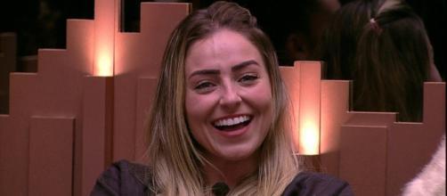 Paula é a líder pela segunda semana seguida. (Reprodução/ TV Globo)