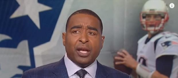 Cris Carter's suggestion should be taken seriously by the Patriots [Image Source: First Things First/YouTube]