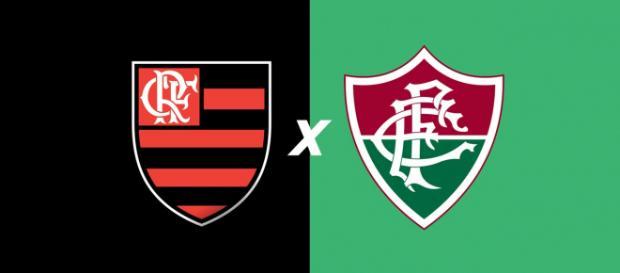 Flamengo x Fluminense ao vivo neste sábado (6). (Foto: Montagem/ Diogo Marcondes)