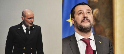 Gregorio De Falco sfida Matteo Salvini