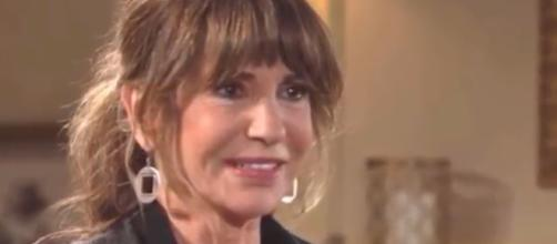 Jill returns to Genoa City for Neil's funeral. (Image credit Y&R via FLK Steven-You / Tube.)