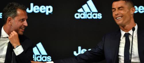 Juventus, Cristiano Ronaldo si allena in parte in gruppo