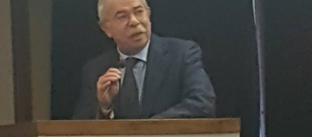Carmelo Garofalo in conferenza