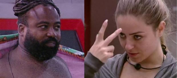 Paula e Rodrigo do BBB19 (Reprodução/Globoplay)