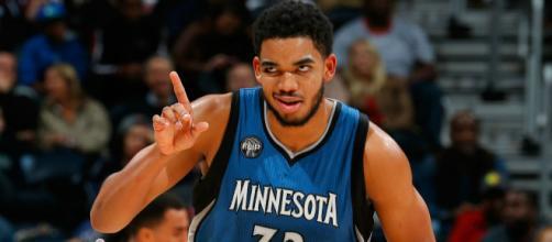 Karl-Anthony Towns termine meilleur marqueur de la nuit NBA
