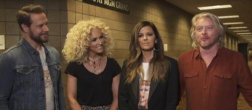 Little Big Town brings the 2019I 54th ACM Awards crowd to tears with their performance of The Daughters. [Image source:ACM-YouTube]
