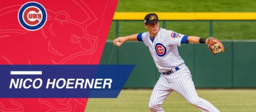 Nico Hoerner not doing great for the Chicago Cubs AA team. - [Chicago Cubs / YouTube screencap]