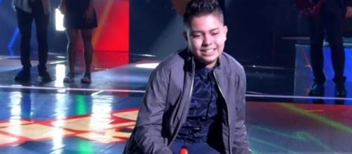 Nicolas Prates não foi à final do 'The Voice'. (Reprodução/TV Globo)
