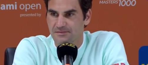 Roger Federer won the 2019 Miami Open title. Photo: screencap via Tennis Fans/ YouTube