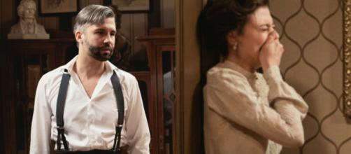 Una Vita trame iberiche: Lucia si sacrifica per Telmo, Felipe scopre la verità su Celia