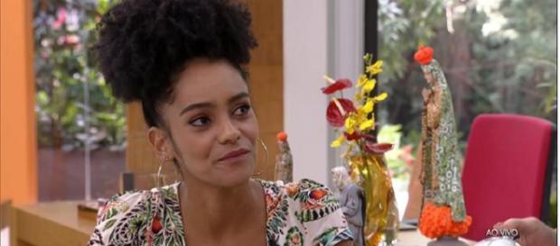 Gabi esteve no 'Mais Você' nesta segunda-feira (8). (Reprodução/Rede Globo)