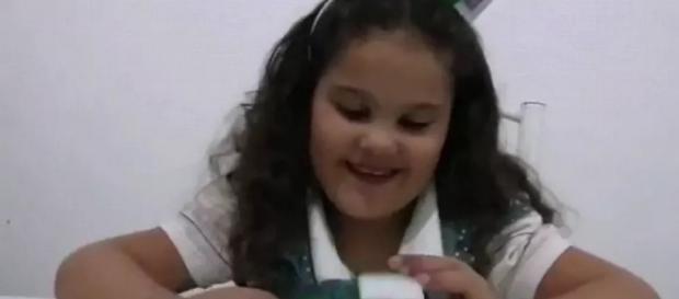 Menina passa por transplante de coração e morre. (Reprodução/Rede Globo)