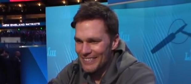 Tom Brady was impressed by Ryan Shazier's fast recovery. [Image Source: New England Patriots/YouTube]