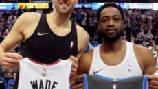 La NBA llora las despedidas de Nowitzki y Wade