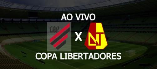 Athletico-PR x Tolima será exibido na TV fechada. (Arte/ Reprodução/ Diogo Marcondes)