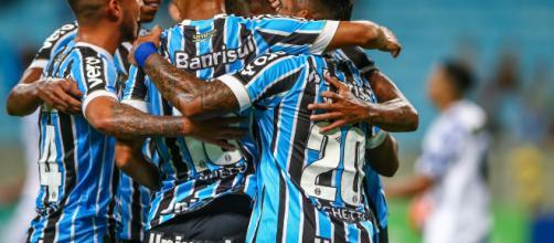 Grêmio pode dar adeus à Copa Libertadores, caso não vença. (Divulgação/ Lucas Uebel/ Grêmio FBPA)