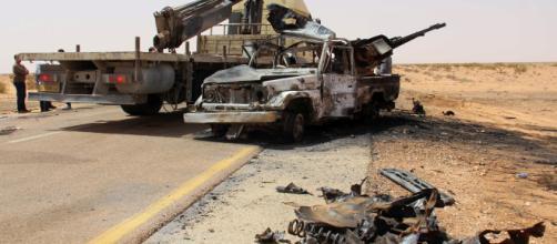 Continuano gli scontri in Libia.