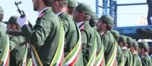 Iran's Revolutionary Guard declared terror organization by US - Image credit - Aljazeera / YouTube